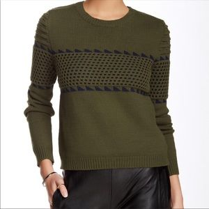 Romeo + Juliet Couture olive green sweater